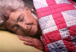 ouderen slapen