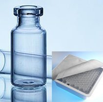 4-ml-Injection-vial-sterile-Type-1-Tubular-glass-EZ-fill-2R-Tray-Aluglas-article-1016479