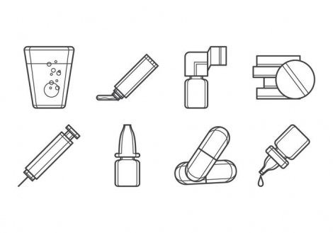 free-drugs-form-icon-vector